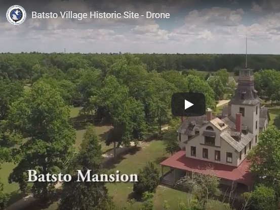 Check Out This Great Drone View Of Batsto!
